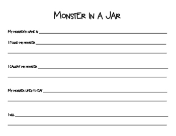 Monster In A Jar