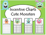 Monster Incentive/Reward Sticker Chart