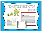 Monster Independent and Fine Motor Packet