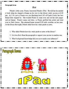 Inferences Task Cards and Mini-Lessons