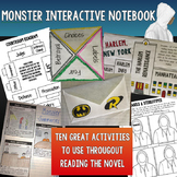 Monster (Walter Dean Myers) Unit Interactive Notebook