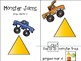 Monster Trucks Mini Adapted Book Counting and Matching