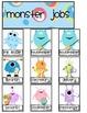 Monster Job Chart Pieces
