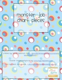 Monster Job Chart Pieces