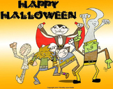 Monster Kids Coloring Pages (Halloween)