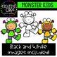 Monster Kids Clipart {Creative Clips Clipart}