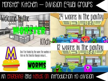 Monster Kitchen Division with Equal Groups