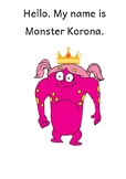 Monster Korona - Covid 19 Social Story