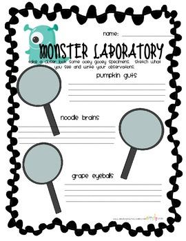 Monster Lab-Exploration Station
