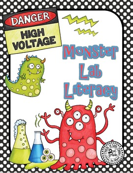 Monster Lab Literacy Stations