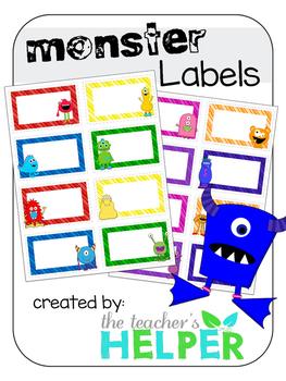 Monster Labels
