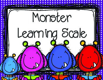Monster Marzano Learning Scale