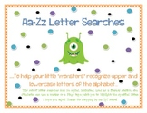 Monster Letter Searches