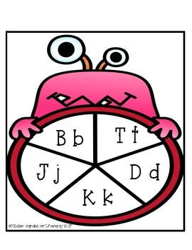 Monster Letter Spin