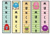 Monster Library Bookmarks
