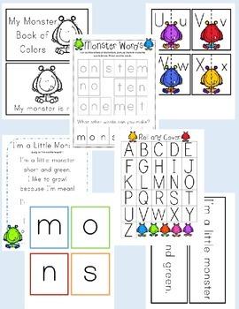 Monster Literacy Activities