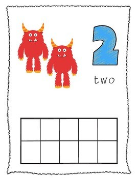 Monster Circle Time, Centers, & Printables PRE-K
