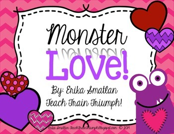 Monster Love {6 Valentine Centers for First Graders!}