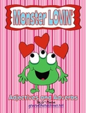 Monster Lovin' Adjectives and Adverbs Sorting