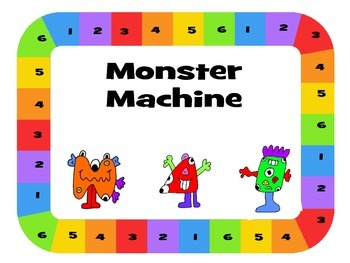 Monster Machine – Monster Drawing Game – The Body Vocabulary ESL
