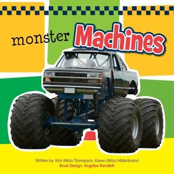 Monster Machines Sound eBook & Audio Track