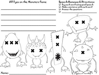 Print and Go FREE: Monster Madness