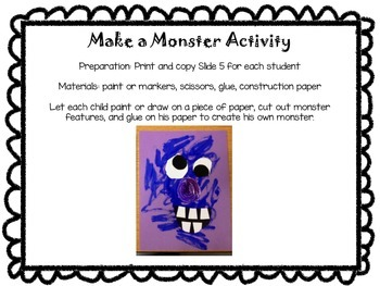 Print and Go FREE: Monster Madness #SLPFreebieFriday