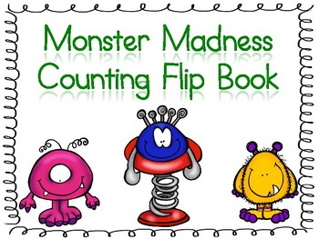 Monster Madness Counting Flip Book