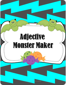 Monster Maker Using Adjectives