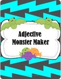 Monster Maker Using Adjectives