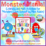 """Monster Mania! (Activities for """"Monsters Love School"""" by M"""