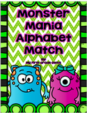 Monster Mania Alphabet and Sound Match