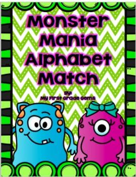 Monster Mania Alphabet and Sound Match