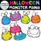 Monster Mania Clip Art { Monster Clip Art}