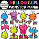 Monster Mania Clip Art { Monster Clip Art}