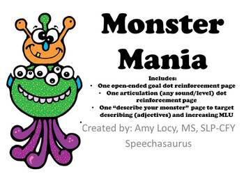 Monster Mania FREEBIE