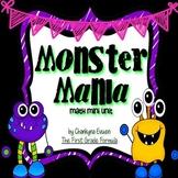 Halloween Math Centers: Monster Mania