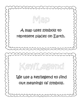 'Monster' Map Skills Pack (posters, worksheets, etc.)
