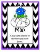 'Monster' Map Skills Pack (posters, worksheets, etc.)
