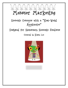 Monster Marketing a Real-World Application Economics Activity