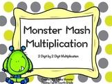 Monster Mash 2 Digit by 2 Digit Multiplication- Task Cards!