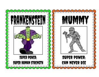 Monster Mash: A Halloween Writing Activity