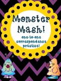 Monster Mash! {A One-to-one Correspondence FREEBIE}