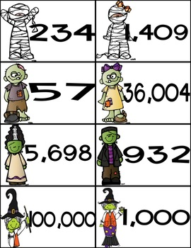 Monster Mash:  Addition and Subtraction with Regrouping