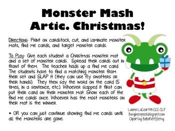 Monster Smash Articulation - Christmas!