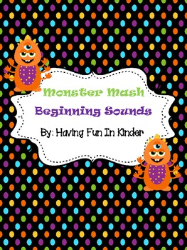 Monster Mash Beginning Sounds