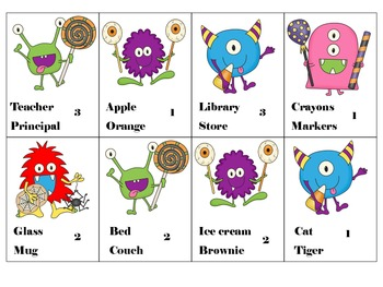 Monster Mash Compare and Contrast