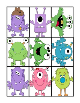 Monster Mash, Compare and Contrast, and Accountable Talk Stems