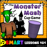 Monster Mash Cup Game: Halloween Music Game: Rhythm Activi