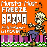 Halloween Monster Mash Freeze Dance {Brain Break}
